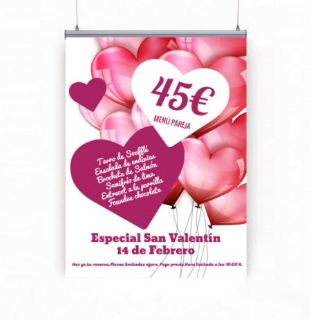 Caballete publicitario Valencia