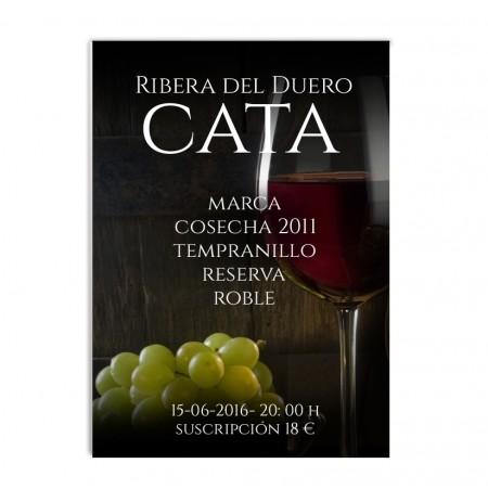 Cartel vinos