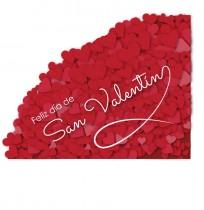 Vinilo para escaparate San Valentín