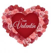 Vinilo corazón San Valentín