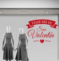 Vinilo texto para San Valentín II
