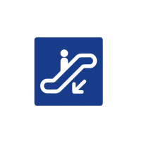 Indicativo escaleras mecánicas 02