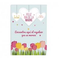 Cartel día de la Madre Primavera