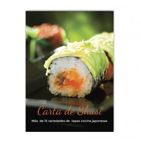 Cartel reclamo sushi