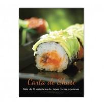 Cartel comida japonesa