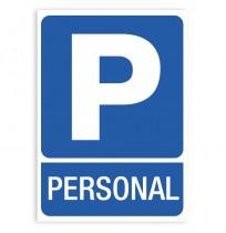 Pegatina señal Parking Personal