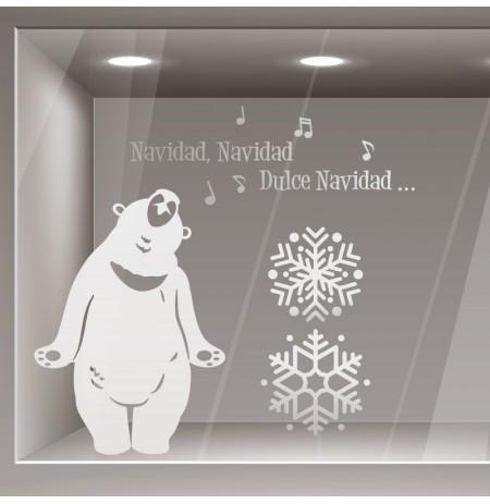 Vinilo Navidad oso canta
