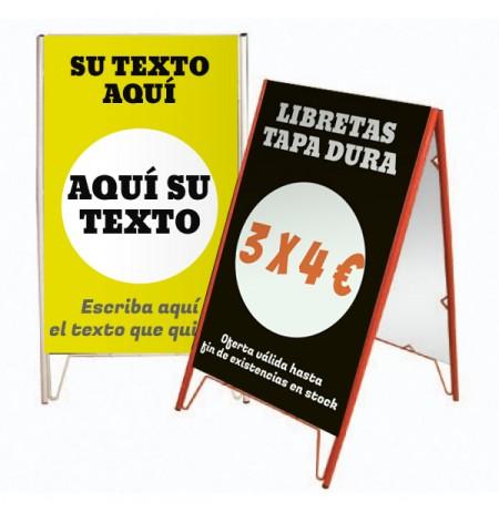 Caballete publicitario Bilbao