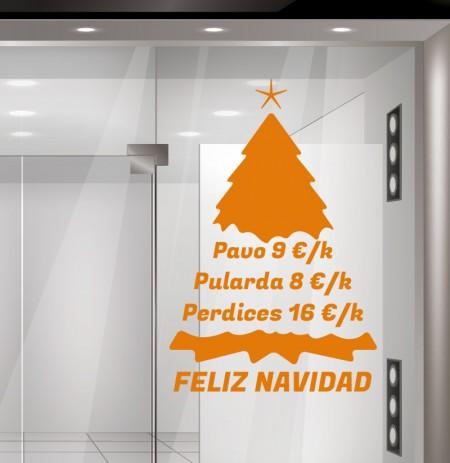 Navidad vinilo decorativo N11