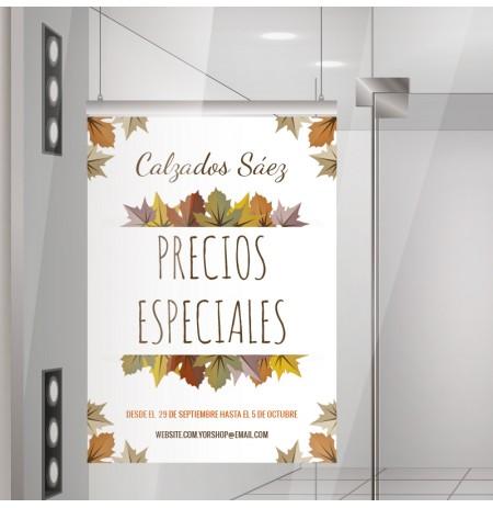 Precios especiales otoño lona