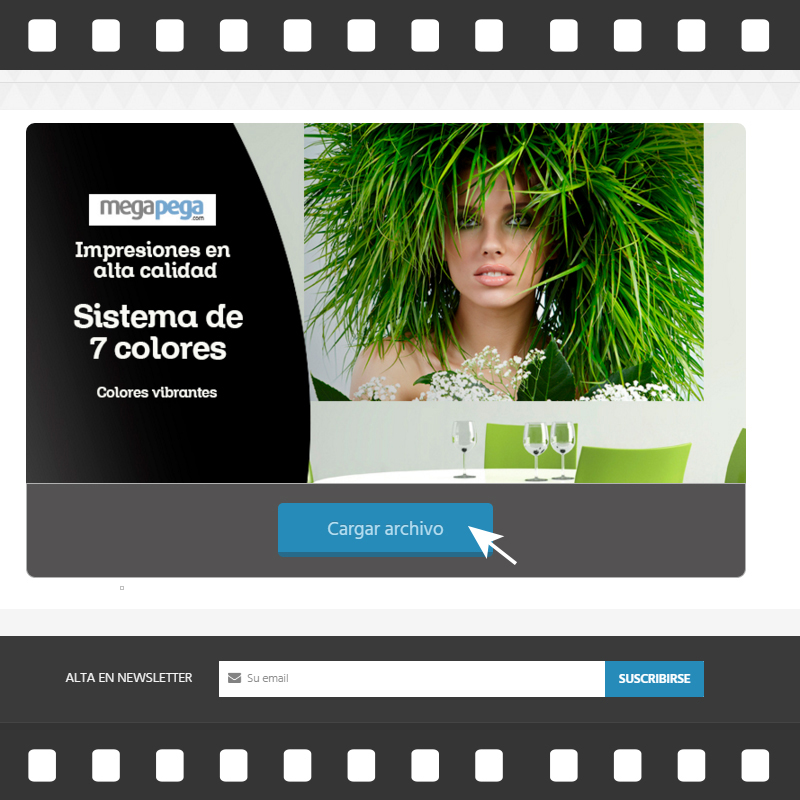 comprar fotomural tutorial con imagenes